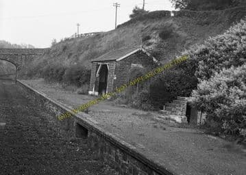 Ashwater Railway Station Photo. Halwill Junction - Tower Hill. (8)