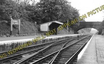 Ashwell & Morden Railway Station Photo. Baldock - Royston. Cambridge Line (1)..