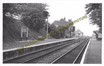 Ashwell & Morden Railway Station Photo. Baldock - Royston. Cambridge Line (2)