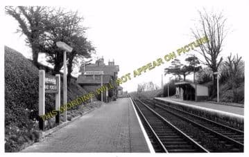 Ashwell & Morden Railway Station Photo. Baldock - Royston. Cambridge Line (3)