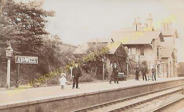 Ashwell & Morden Railway Station Photo. Baldock - Royston. Cambridge Line (6)
