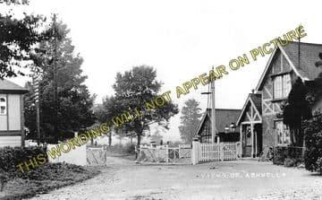 Ashwell Railway Station Photo. Whissendine - Oakham. Saxby to Seaton Line. (1)..