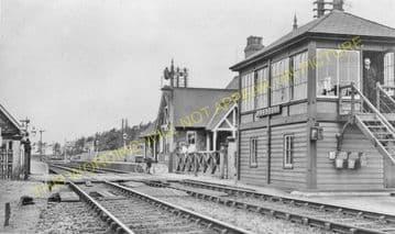 Ashwell Railway Station Photo. Whissendine - Oakham. Saxby to Seaton Line. (3)