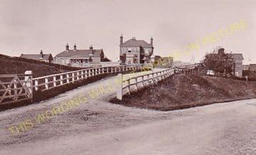 Ashwellthorpe Railway Station Photo. Forncett - Wymondham. Great Eastern Rly (4)..