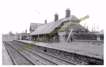 Askam Railway Station Photo. Barrow - Kirkby. Foxfield and Millom Line. (4)