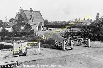 Askern Railway Station Photo. Doncaster - Norton. Knottingley Line. LYR. (4)