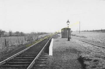 Aston Botterell Siding Railway Station Photo. Cleobury, Mortimer Line. (1)