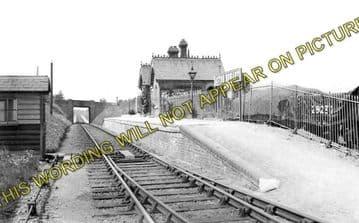 Aston Rowant Railway Station Photo. Chinnor - Lewknor Bridge. (1)..