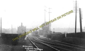 Atherstone Railway Station Photo. Nuneaton - Polesworth. Tamworth Line. (2)