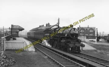 Atherton Bag Lane Railway Stattion Photo. West Leigh - Chequerbent. (1)..