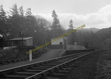 Attadale Railway Station Photo. Strathcarron - Strome Ferry. Dingwall Line, (1)