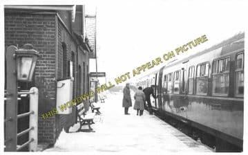 Attlebridge Railway Station Photo. Lenwade - Drayton. Norwich Line. M&GNR. (3)
