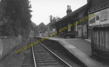 Auchenheath Railway Station Photo. Tillietudlem - Brocketsbrae. Douglas Line (1)..