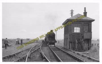 Auchtermuchty Railway Station Photo. Ladybank - Strathmiglo. Mawcarse Line. (2)