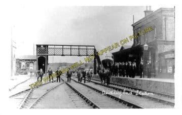 Audley End Railway Station Photo. Newport - Saffron Walden Line. (5)