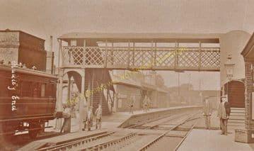 Audley End Railway Station Photo. Newport - Saffron Walden Line. (8)