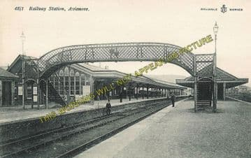 Aviemore Railway Station Photo. Kincraig to Carr Bridge and Boat of Garten. (2)