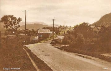 Aviemore Railway Station Photo. Kincraig to Carr Bridge and Boat of Garten. (5)