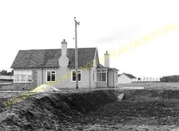 Avoch Railway Station Photo. Fortrose - Munlochy. Muir of Ord Line. Highland (1)