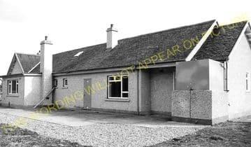 Avoch Railway Station Photo. Fortrose - Munlochy. Muir of Ord Line. Highland (4)