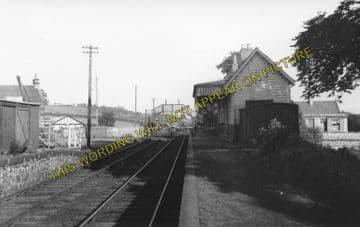 Avonbridge Railway Station Photo. Blackstone - Slamannan. North British Rly. (1).
