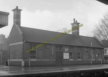 Avonmouth Dock Railway Station Photo. Henbury and Pilning Lines. GWR. (17)
