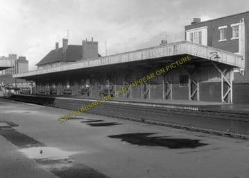 Avonmouth Dock Railway Station Photo. Henbury and Pilning Lines. GWR. (19)