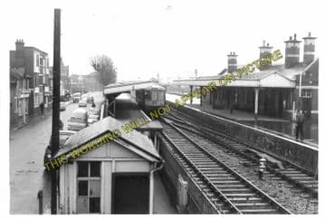 Avonmouth Dock Railway Station Photo. Henbury and Pilning Lines. GWR. (7)