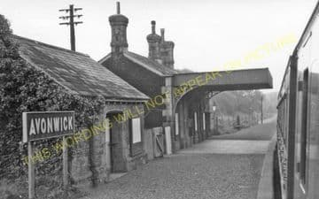 Avonwick Railway Station Photo. Brent - Gara Bridge. Kingsbridge Line. GWR. (3)