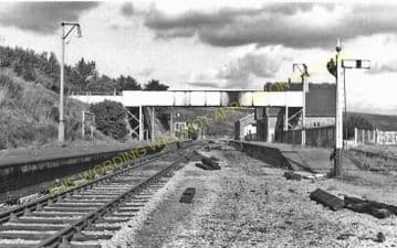 Axbridge Railway Station Photo. Winscombe - Cheddar. Yatton to Wells Line. (14)