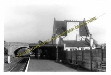 Axminster Railway Station Photo. Chard - Seaton Jct. Yeovil to Honiton Line. (6)