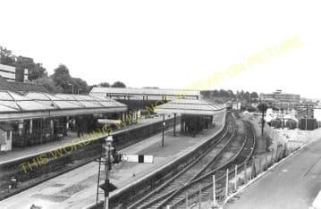 Aylesbury Joint Railway Station Photo. Stoke Mandeville - Waddesdon Manor. (10)..