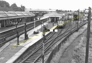 Aylesbury Joint Railway Station Photo. Stoke Mandeville - Waddesdon Manor. (17)