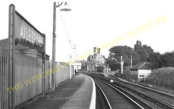 Aylesford Railway Station Photo. Maidstone - Snodland. Rochester Line. SECR (5)