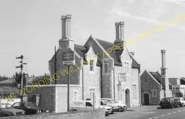 Aylesford Railway Station Photo. Maidstone - Snodland. Rochester Line. SECR (6)