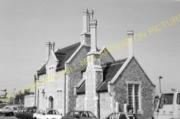 Aylesford Railway Station Photo. Maidstone - Snodland. Rochester Line. SECR (7)