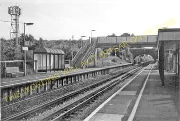 Aylesham Railway Station Photo. Adisham - Shepherdswell. Canterbury Line. (3)
