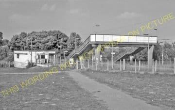Aylesham Railway Station Photo. Adisham - Shepherdswell. Canterbury Line. (5)