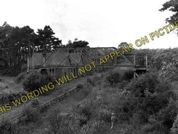 Aylsham North Railway Station Photo. Felmingham - Corpusty & Saxthorpe. MGNR (2)..