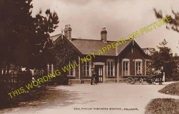 Aylsham North Railway Station Photo. Felmingham - Corpusty & Saxthorpe. MGNR (3)