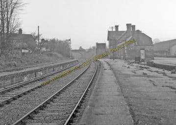 Aylsham South Railway Station Photo. Cawston - Buxton Lamas. Wroxham Line. (2)