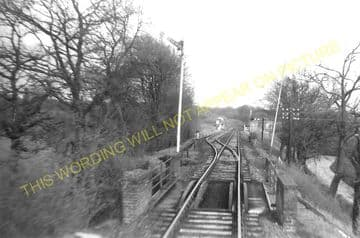 Ayot Railway Station Photo. Welwyn - Wheathampstead. Luton Line. Midland Rly (1).