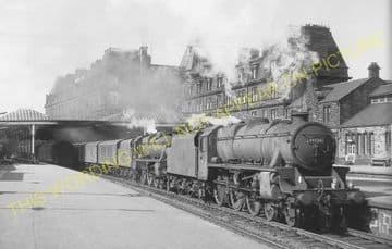 Ayr Railway Station Photo. Glasgow & South Western Railway. (5)