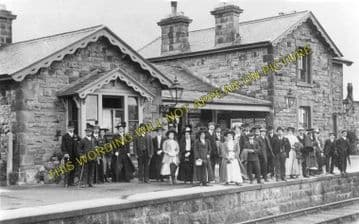 Aysgarth Railway Station Photo. Redmire - Askrigg. Wensley to Hawes Line. (1)..
