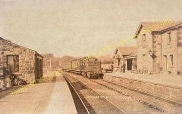 Aysgarth Railway Station Photo. Redmire - Askrigg. Wensley to Hawes Line. (5)
