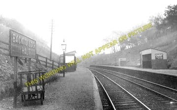 Back O'Loch Railway Statoin Photo. Lenzie - Kirkintilloch. North British Rly (1)