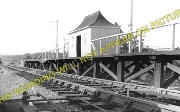 Backney Railway Station Photo. Ross-on-Wye - Fawley. Hereford Line. GWR (1)..