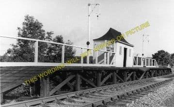 Backney Railway Station Photo. Ross-on-Wye - Fawley. Hereford Line. GWR (2)