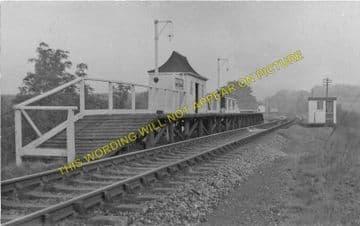 Backney Railway Station Photo. Ross-on-Wye - Fawley. Hereford Line. GWR (3)