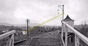 Backney Railway Station Photo. Ross-on-Wye - Fawley. Hereford Line. GWR (4)
